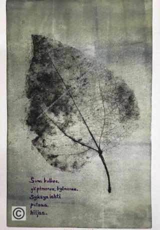 Syksyn lehti-web, Autumn leaf